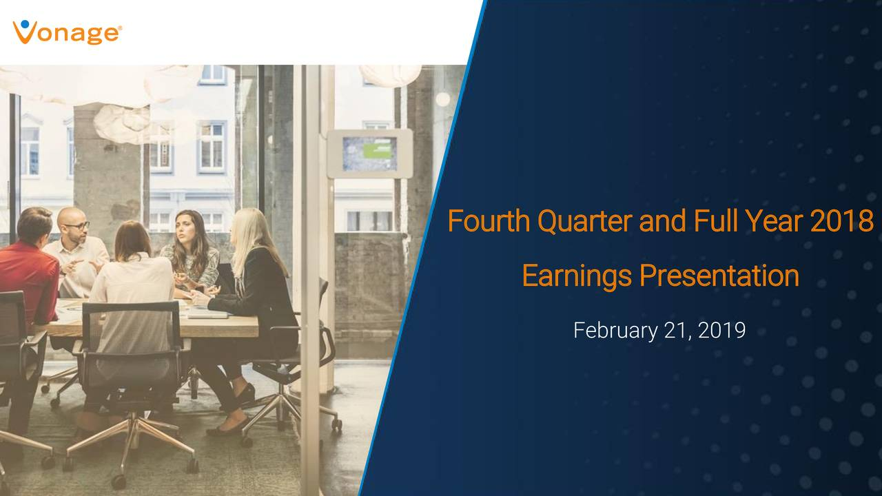 Earnings Presentation February 21, 2019