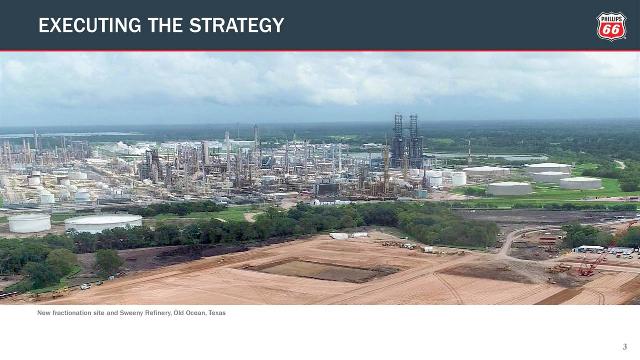 New fractionation site and Sweeny Refinery, Old Ocean, Texas 3