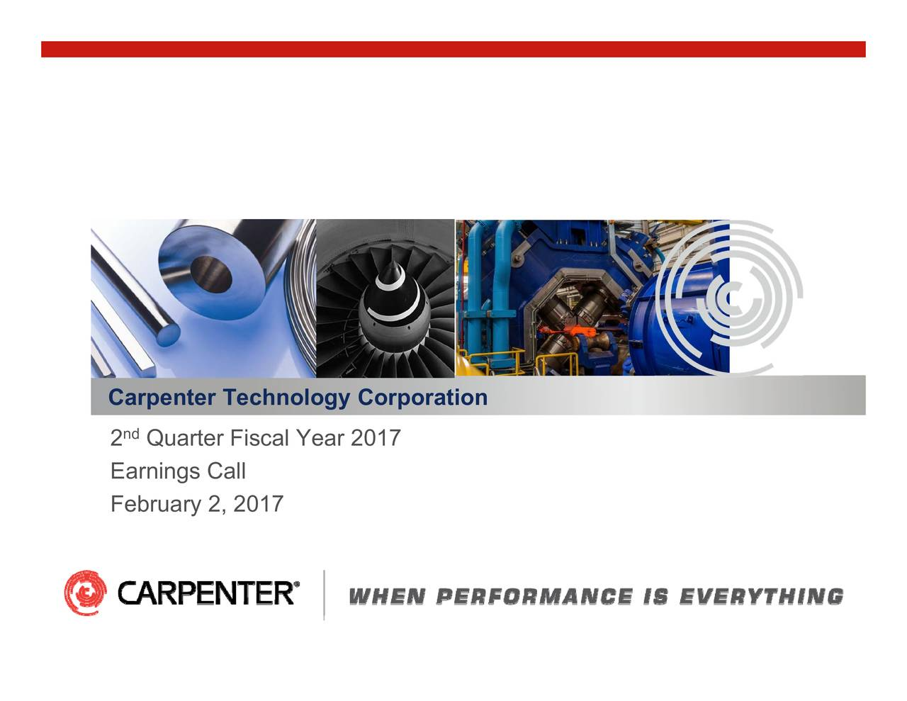 nd Carpenter Technology Corporation