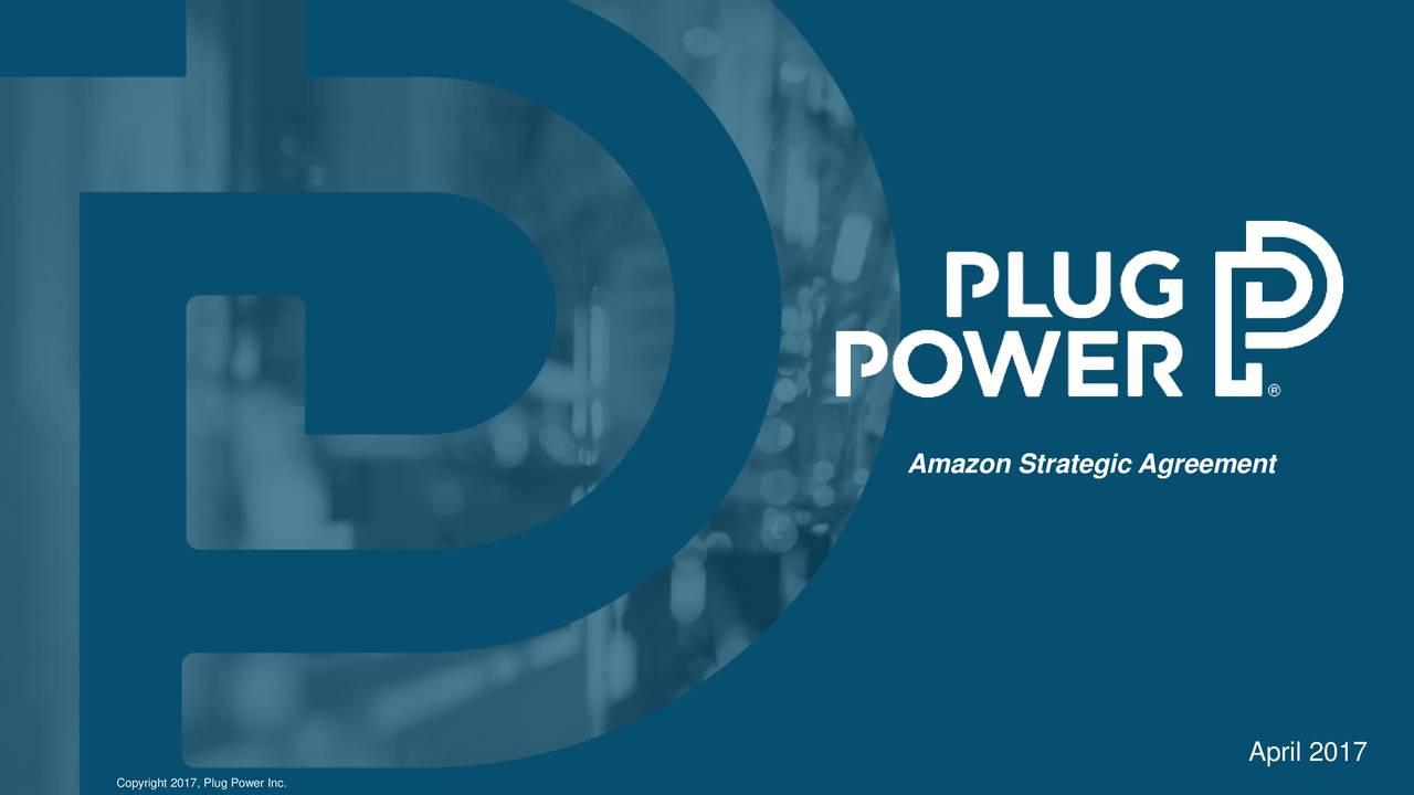Plug power plug amazon multi site sales agreement call slideshow plug power plug amazon multi site sales agreement call slideshow platinumwayz