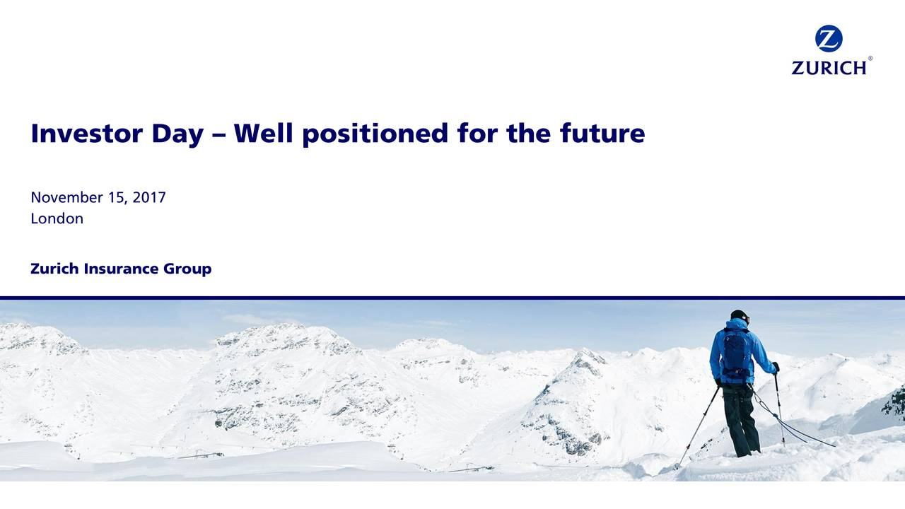 Zurich Insurance Zurvy Investor Presentation Slideshow