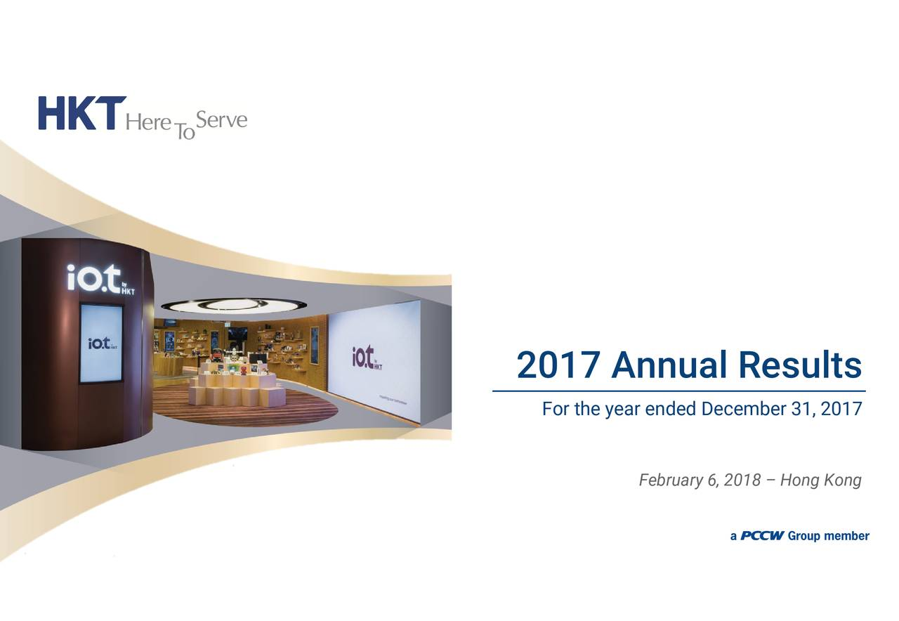For the year ended December 31, 2017 2017 Annual Results