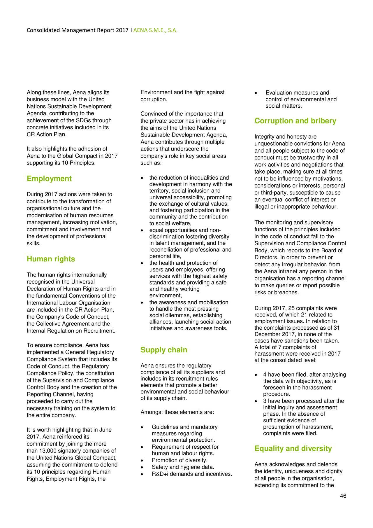 Aena SME S.A. ADR 2017 Q4 - Results