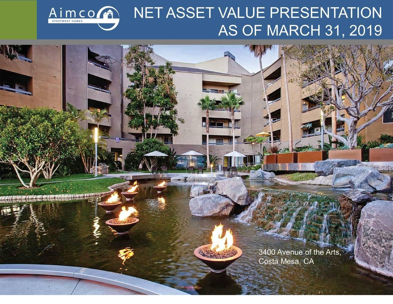 Apartment Investment and Management Company (AIV) Investor Presentation - Slideshow